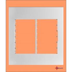 PLACA 4 X 4 PARA 6 MÓDULOS + SUPORTE COD. ILB7443