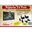 """SUPORTE PARA TV FIXO 14""""- 84"""" POLEGADAS"""
